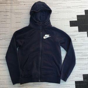 Nike funnel neck hoodie